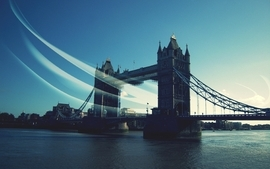 Britain london bridges united kingdom british rivers wallpaper