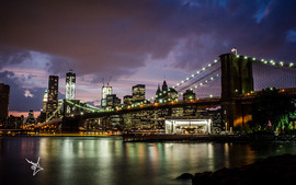 Brooklyn Bridge Manhattan wallpaper