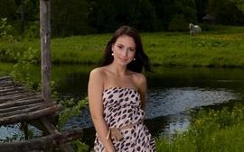 Brunettes boobs women models outdoors femjoy magazine horses wallpaper