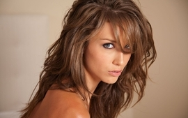 Brunettes women malena morgan faces wallpaper