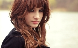 Brunettes women susan coffey people wallpaper