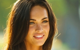 Brunettes women transformers megan fox actress celebrity 2 wallpaper
