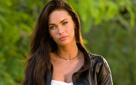 Brunettes women transformers megan fox actress celebrity wallpaper