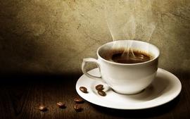 Caffeine coffee coffee beans coffee cups drinks wallpaper
