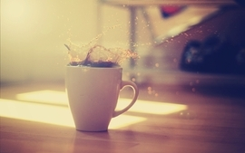 Caffeine coffee photography splash coffee cups drinks wallpaper