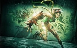 Cammy bosslogic street fighter x tekken cammy white wallpaper
