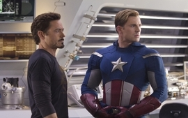Captain america tony stark robert downey jr actors chris evans wallpaper
