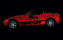 Cars bmw art car 3 wallpaper