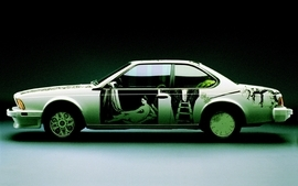 Cars bmw art car 5 wallpaper