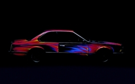 Cars bmw art car 6 wallpaper