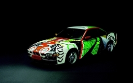 Cars bmw art car 7 wallpaper
