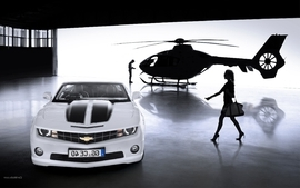 Cars chevrolet camaro convertible 2 wallpaper