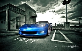 Cars chevrolet corvette z06 2 wallpaper