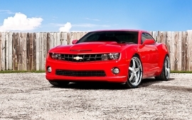 Cars chevrolet vehicles chevrolet camaro red cars wallpaper