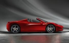 Cars ferrari red cars side view ferrari 458 spider ferrari 458 wallpaper