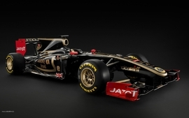 Cars formula one lotus renault wallpaper