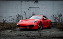 Cars industrial plants porsche 911 wallpaper