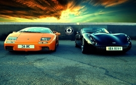 Cars lamborghini diablo vehicles tvr orange cars wallpaper
