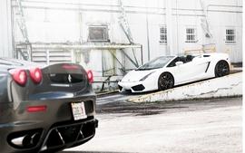 Cars lamborghini ferrari f430 supercars lamborghini gallardo wallpaper