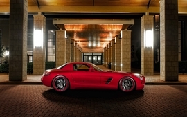Cars mercedes benz gullwing wallpaper