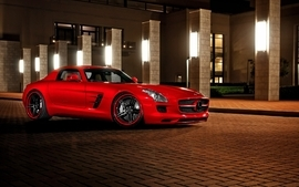 Cars mercedes benz sls amg 2 wallpaper