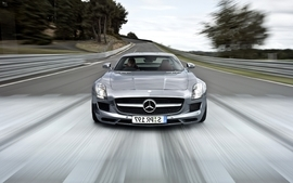 Cars mercedes benz sls amg wallpaper