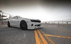 Cars roads chevrolet camaro ss wallpaper