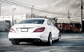 Cars ships mercedes benz cls63 amg wallpaper