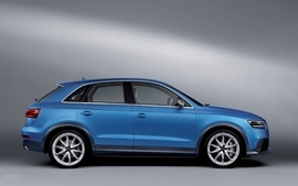Cars studio audi suv blue cars german cars audi rsq3 wallpaper