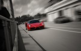 Cars supercars ferrari enzo selective coloring wallpaper