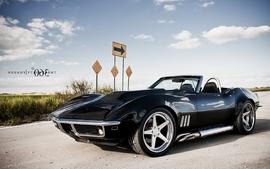 Cars vehicles chevrolet corvette c3 wallpaper