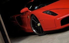 Cars vehicles ferrari enzo red cars wallpaper