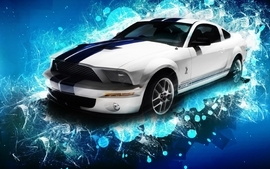 Cars vehicles ford mustang shelby gt500 wallpaper