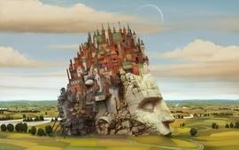 Castles creative wallpaper
