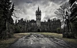 Castles dark old architecture constructions wallpaper