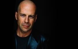 Celebrity actors bruce willis leather jacket wallpaper