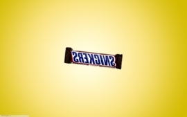 Chocolate candy snickers wallpaper