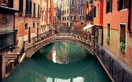 Cityscapes bridges town rivers wallpaper