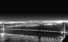 Cityscapes grayscale 2 wallpaper