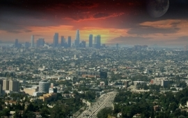 Cityscapes los angeles 2009 wallpaper