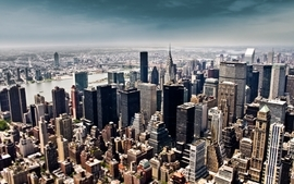 Cityscapes new york city city skyline wallpaper
