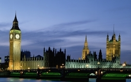Cityscapes night london buildings big ben palace of westminster wallpaper