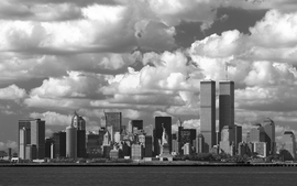 Cityscapes world trade center new york city statue of liberty wallpaper