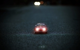 Closeup minimalistic cars roads corvette stingray wallpaper