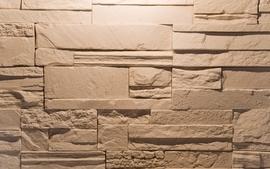Closeup wall stones bricks wallpaper