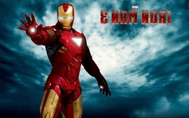 Clouds iron man superheroes marvel comics movie posters reaching wallpaper