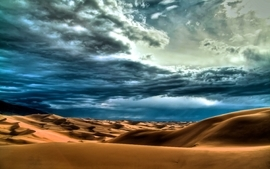 Clouds landscapes nature desert skyscapes wallpaper