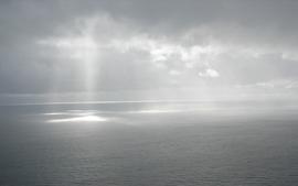 Clouds landscapes white wallpaper