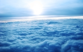 Clouds sun horizon atmosphere skyscapes wallpaper