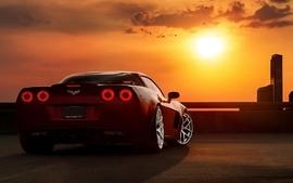 Clouds supercars chevrolet corvette red cars chevrolet corvette wallpaper